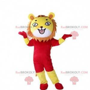 Maskot lva, kostým lvíče, kostým tygra - Redbrokoly.com