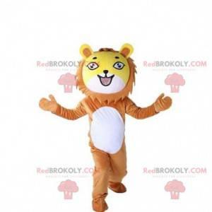 Lion mascot, lion cub costume, tiger costume - Redbrokoly.com