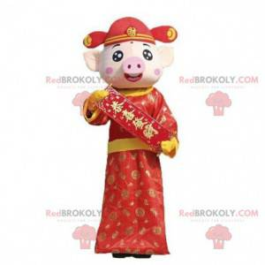 Chinese zodiac mascot, pig costume, pig costume - Redbrokoly.com