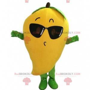 Mango-Maskottchen, Obstkostüm, exotische Fruchtverkleidung -