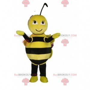Bee maskot, flygende insektdrakt, vepsedrakt - Redbrokoly.com