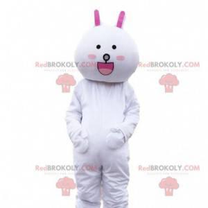 Rabbit costume, plush bunny mascot. Giant plush - Redbrokoly.com