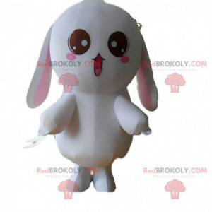 Rabbit mascot, plush bunny costume, giant bunny - Redbrokoly.com