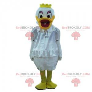 Mascote Daisy, fantasia de Pato Donald, fantasia de Disney -