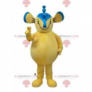 Maskot mořský koník, kostým myši, žluté zvíře - Redbrokoly.com