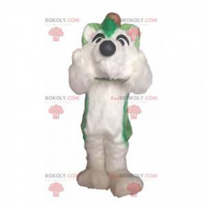 Husky mascot, dog costume, plush furry dog - Redbrokoly.com