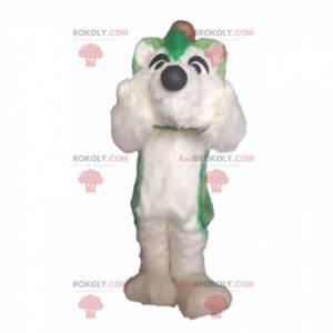 Maskot Husky, kostým psa, plyšový chlupatý pes - Redbrokoly.com