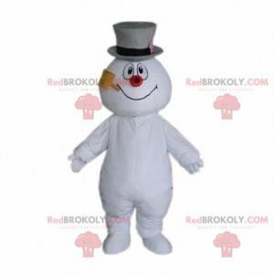 Schneemann Maskottchen, Berg Kostüm, Weihnachtskostüm -