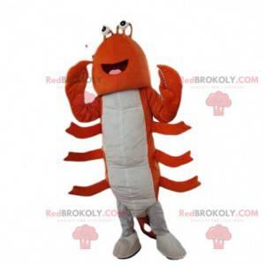 Mascotte di aragosta, costume di gamberi, costume da marinaio -
