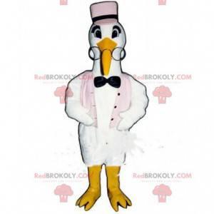 Maskot čáp, kostým čáp, kostým pták - Redbrokoly.com
