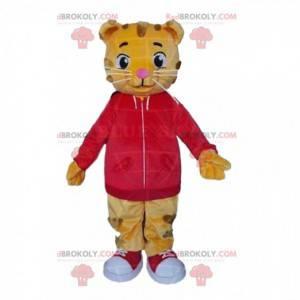 Baby Tiger Maskottchen, Löwenjunges Kostüm, Katzenverkleidung -