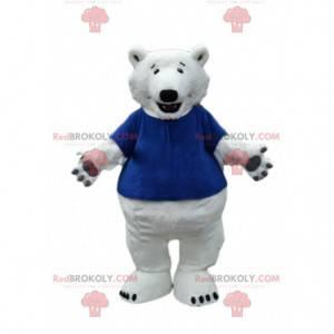 Maskot ledního medvěda, kostým medvěda, kostým medvěda grizzly