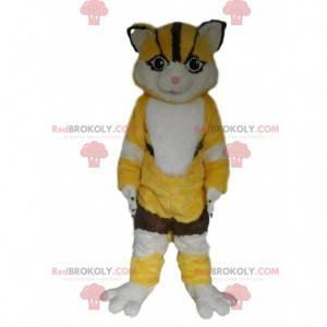 Fox mascot, cat costume, feline costume - Redbrokoly.com