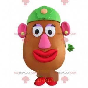Maskot Madame Potato, slavná postava v Příběhu hraček -