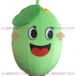 Melon maskot, vannmelon kostyme, frukt forkledning -