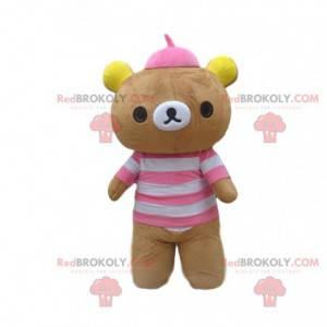 Teddy bear mascot, bear costume, plush costume - Redbrokoly.com