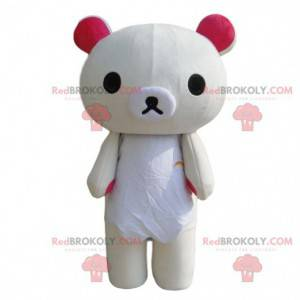 Maskot medvídka, kostým medvěda, bílý medvídek - Redbrokoly.com