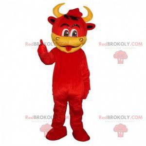 Maskot krávy, kostým ďábla, převlek maskotů - Redbrokoly.com
