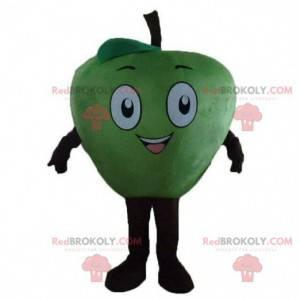 Apple maskot, fruktdrakt, gigantisk grønt eple - Redbrokoly.com