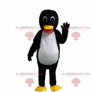 Pinguin-Maskottchen, Eisschollen-Kostüm, Winterkostüm -