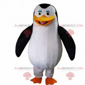 Penguin mascot from the film The penguins of Madagascar -