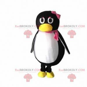 Pinguin-Maskottchen, weibliches Kostüm, Mädchenpinguin -