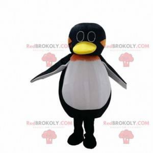 Maskot tučňák, kostým z ledové kra, zimní kostým -