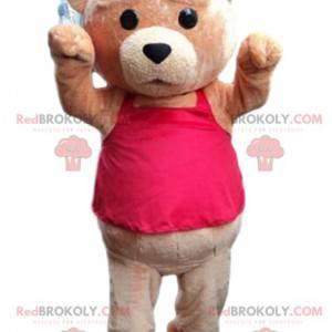 Velký kostým hnědého medvídka, kostým hnědého medvěda -