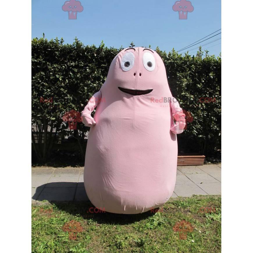 Barbapapa famous cartoon pink character mascot - Redbrokoly.com