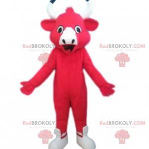 Maskot Laughing Cow, tvář značky sýrů - Redbrokoly.com