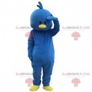 Blue bird mascot, chick costume, canary costume - Redbrokoly.com