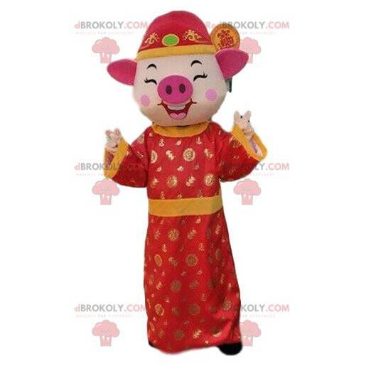 Asiatisk Klänning