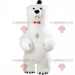 Polar bear mascot, bear costume, grizzly bear costume -