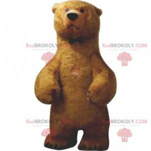 Bardzo realistyczna maskotka niedźwiedzia brunatnego