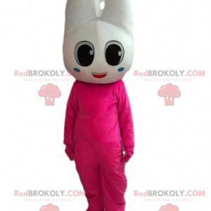 Maskotka ząb, kostium dentysty, różowy ząb - Redbrokoly.com