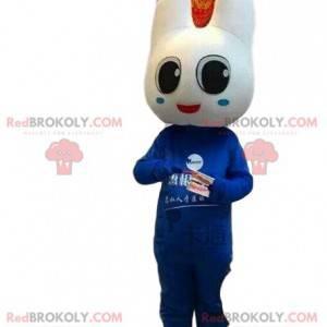 Tannmaskott, tannlege kostyme, blå tann - Redbrokoly.com