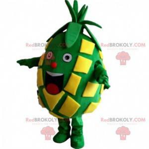 Ananas-Maskottchen, Obstkostüm, exotisches Kostüm -
