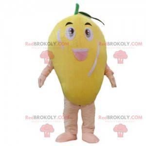 Mango maskot, frukt kostyme, eksotisk frukt forkledning -