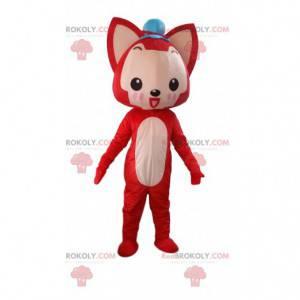 Fox maskot, reve kostyme, hundedrakt - Redbrokoly.com