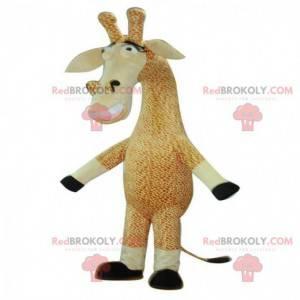 Giraffe mascotte, jungle kostuum, gigantische giraf -