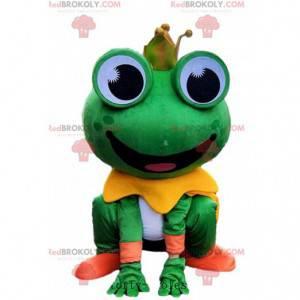 Lustiges Froschmaskottchen, lustiges Froschkostüm -