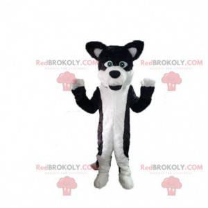 Pies maskotka, włochaty kostium psa, kostium psa -