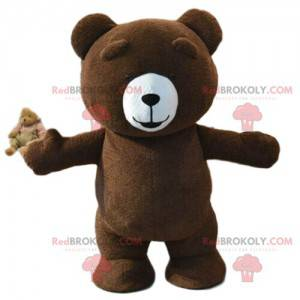Großes braunes Teddybärkostüm, Braunbärkostüm - Redbrokoly.com