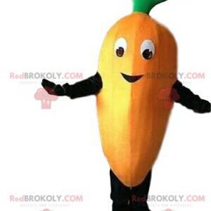 Karottenmaskottchen, Karottenkostüm, Gemüsekostüm -