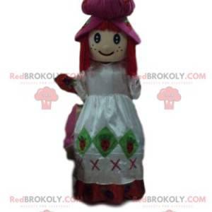 Maskotka Strawberry Charlotte, kostium dziewczęcy -