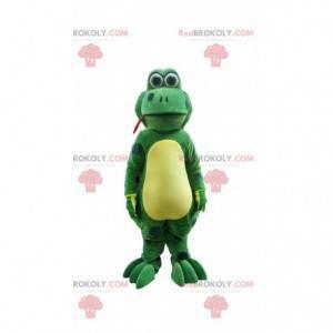 Fun frog mascot, giant frog costume - Redbrokoly.com