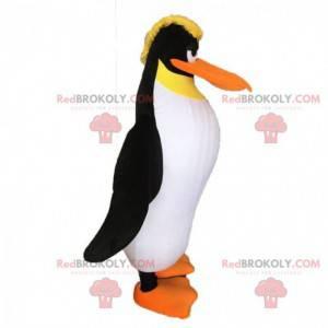 Maskot tučňáka, kostým tučňáka, blonďatý maskot - Redbrokoly.com