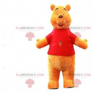 Mascota de Winnie the Pooh, famoso disfraz de oso amarillo -