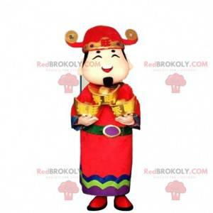 Asian man costume, god of wealth - Redbrokoly.com