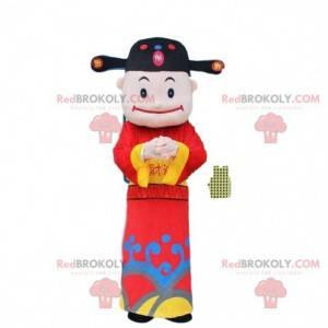 Asiatisk mann maskot, gud av rikdom - Redbrokoly.com
